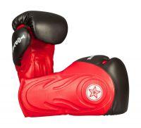 Sparring Boxhandschuhe Hero von Top Ten in Rot-Schwarz