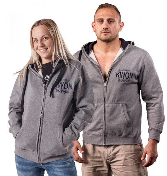 Professional Boxing Zip Hoodie KWON Total