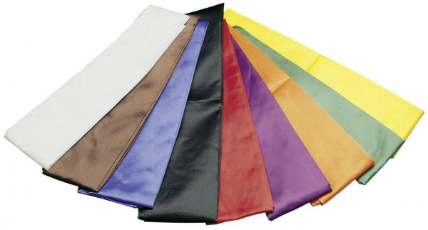 HAYASHI ® Kung Fu Schärpe in 9 Farben