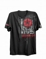 T-Shirt ITF Taekwon-Do Way of Life von Top Ten in schwarz
