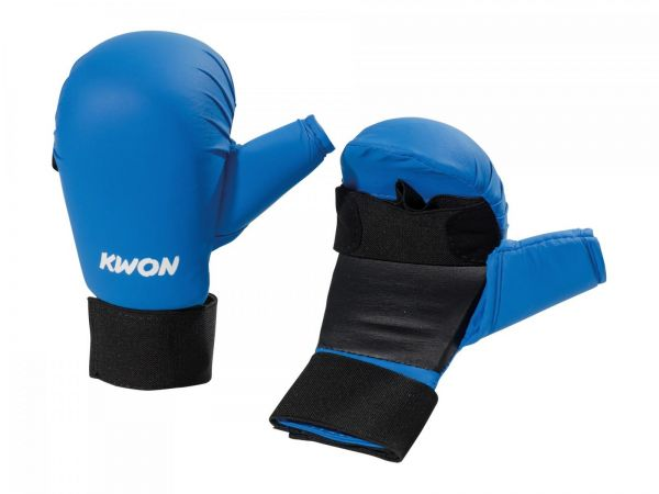 Karate Handschützer Blau