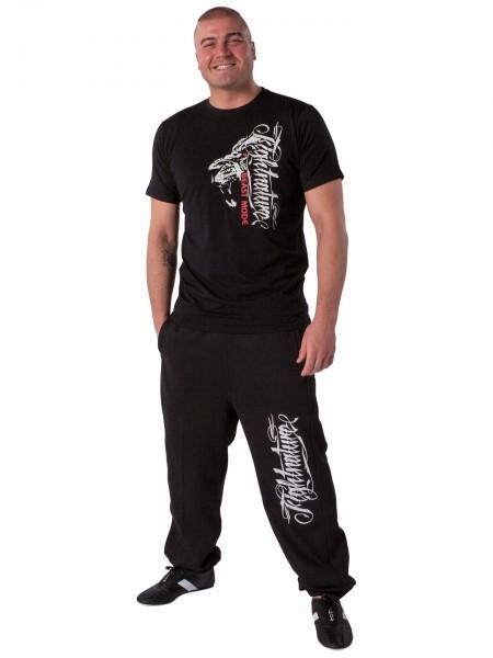 schwarze Jogginghose von Fightnature