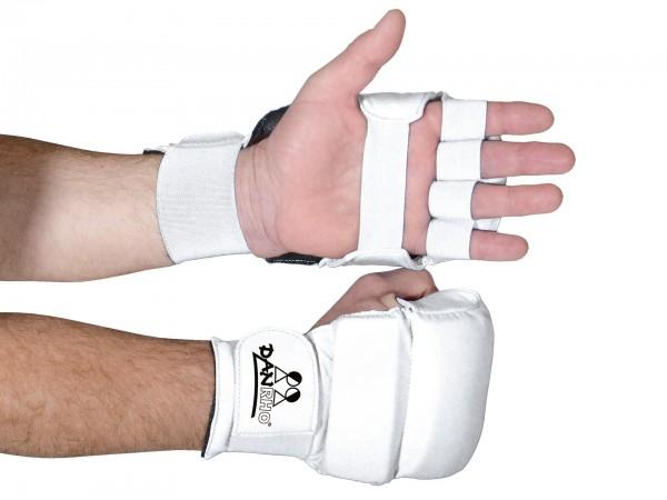Weiße Danrho Ju Jutsu Handschuhe
