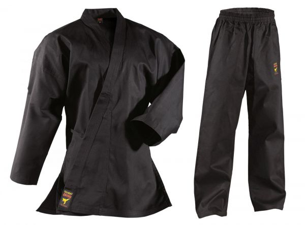 Schwarzer Karateanzug Asia Shiro
