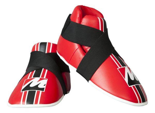 Fußschutz Protector von Manus in Rot Frontansicht